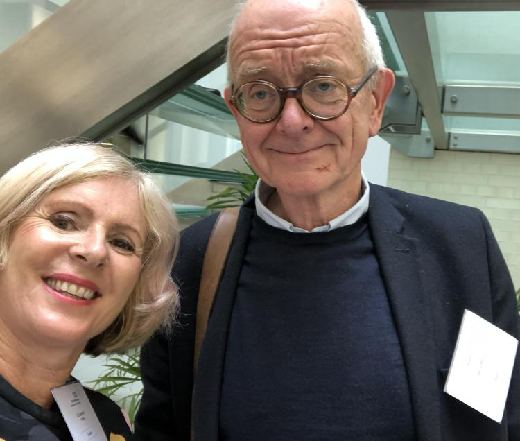 Doctor Susan with Doctor Henry Marsh